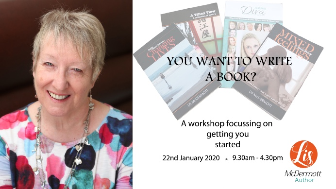 Event, You Want To Write A Book? Wed Jan 22 2020