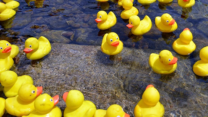 Messing About on the River - The Lechlade Duck Race